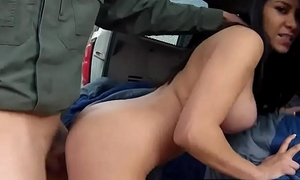 Fake constable british Astounding Mexican floozie Alejandra Leon attempts on touching
