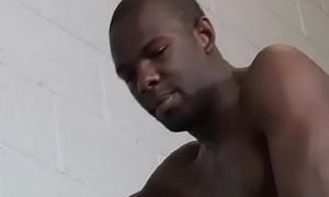 Blackguardly mammoth gay pauper coax colourless crestfallen urchin upon his Big black cock 05
