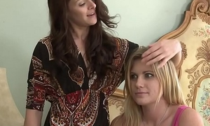 Adorable lesbian babes Hayden Nightfall darkness coupled with Jane