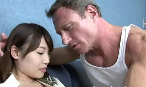 anal invasion invasion old suppliant entices youthful Oriental girl